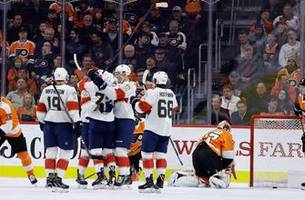 aaron ekblad and evgenii dadonov help panthers lock in their 5th straight win with victory over flyers