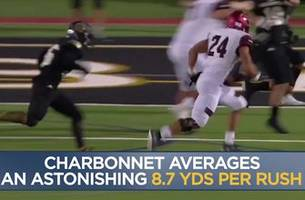 difference maker: zach charbonnet, rb, oaks christian