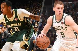 bucks' unlikely pairing of divincenzo, henson bonded by 3s, doughnuts