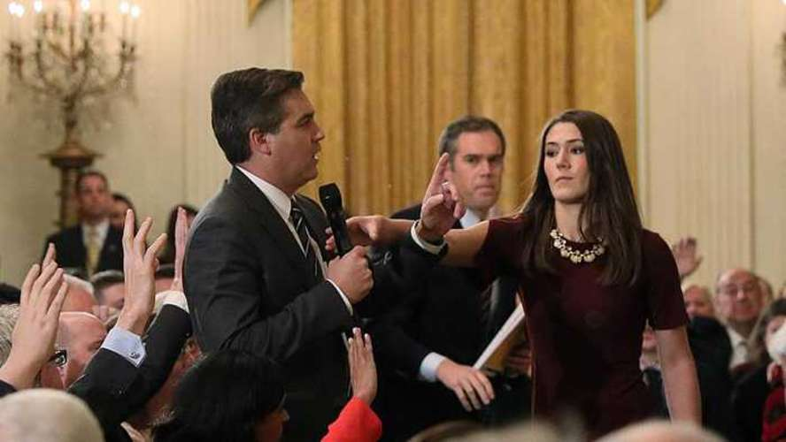 CNN Files Lawsuit Against Trump Over Acosta Fallout