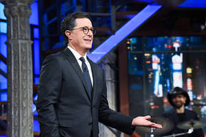 stephen colbert's 'late show' finally beat jimmy fallon in tv ratings