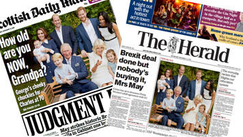 Scotland's papers: Theresa May faces Brexit 'Judgement Day'