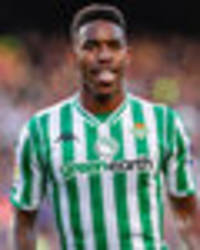arsenal plotting bid for real betis star junior firpo  - but there could be one obstacle