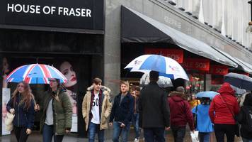 house of fraser to shut another four stores