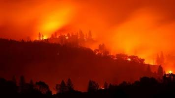 At Least 50 Dead As Series Of Wildfires Spread Across California