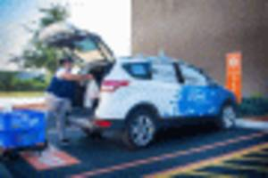 ford partners with walmart for new self-driving delivery pilot