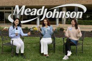 three chinese key opinion leaders invited to broadcast a journey of nourishing the brain first at mead johnson's global r&d center