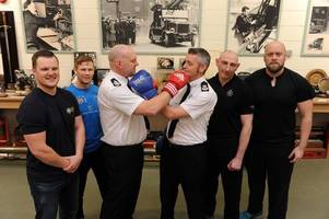 why police and firefighters will be fighting each other this week
