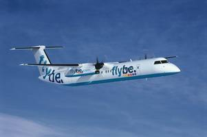 flybe goes up for sale leaving future of bristol airport flights in doubt