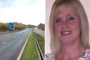 mum-of-four killed in m4 crash has left void family 'can't begin to contemplate'