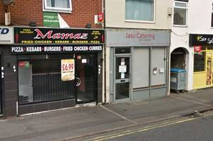 Pictured: Inspectors discover dead rat floating in oil at takeaway