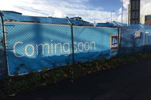 wolverhampton aldi store construction begins - and opening date revealed