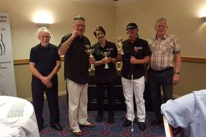 Team bowl away the competition and come third in National blind bowling league