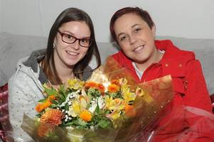 pal thanks kirsty for being one in a million
