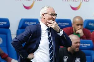 claudio ranieri appointed fulham manager after slavisa jokanovic sacked