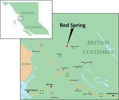 drilling permit issued at red spring