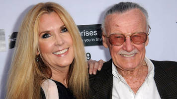 stan lee was working on final superhero dirt man with daughter, she says