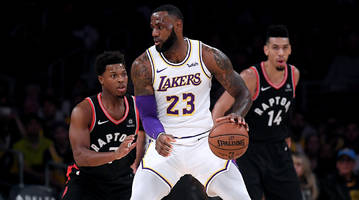 three at 3: back the lakers against sizzling blazers