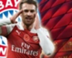 Ramsey closing on Bayern deal as Arsenal contract runs down