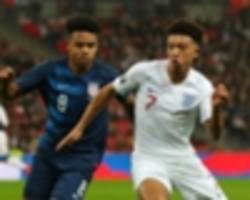 sancho shines on first england start to show premier league youngsters the way forward