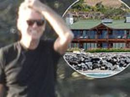 actor pierce brosnan surveys damaged home after family's malibu house evacuated during wildfires