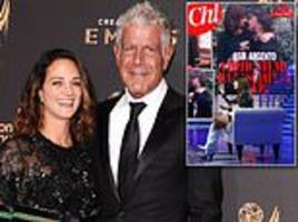 asia argento made love on a table with new beau and anthony bourdain died of broken heart says pal