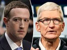 'infuriated' mark zuckerberg told facebook staff to only use android after apple ceo dissed him