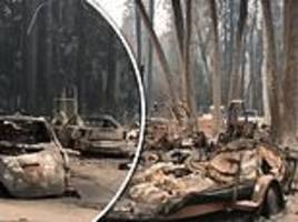 Journalist shares videos of deserted Paradise and captures how some streets were devastated