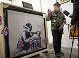 la artist vows to whitewash banksy's slave labour on london bargain store after paying $700,000