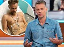 Richard Bacon suffers from PTSD as he RETURNS to intensive care unit where he nearly died