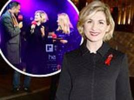 tv doctor jodie whittaker is among the stars to switch on christmas lights over regent street