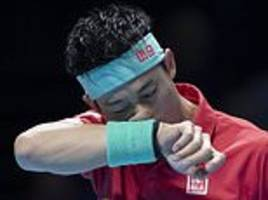 kei nishikori has no excuses after bowing out of atp finals with a whimper
