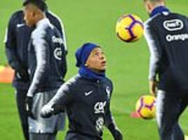 kylian mbappe keeps his eyes on the prize as world champions france prepare for nations league clash