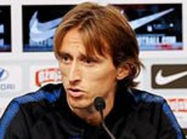 Luka Modric blames World Cup fatigue for Croatia's stuttering start to Nations League
