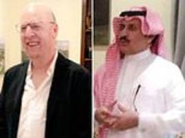 manchester united co-owner avram glazer pictured in saudi arabia amid possible takeover bid