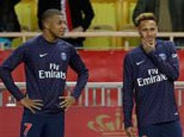 Real Madrid ready to snap up one of Neymar or Mbappe if PSG have to sell due to FFP restrictions