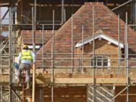 Housebuilding hits highest level since the financial crisis