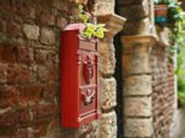 royal mail's profits plunge as number of letters people send falls