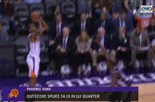 highlights: suns offense explodes in rout of spurs