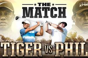 tiger woods vs phil mickelson: commentators named for black friday golf match