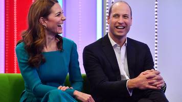 prince william and kate take a seat on bbc the one show sofa