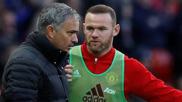 wayne rooney: former man utd striker became 'embarrassed' at old trafford