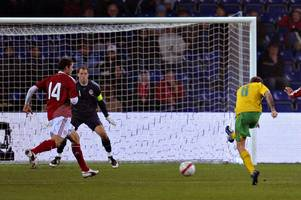 craig bellamy scores two memorable goals for wales against denmark