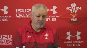 leigh halfpenny: wales coach gatland may not risk full-back