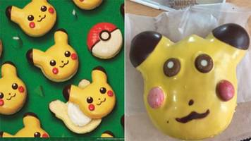 'pikachu' donuts pulled from shelves because they weren't cute
