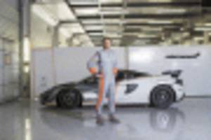 mclaren and sparco create the world's lightest fia race suit