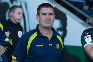 the target nigel clough has set burton albion for coventry city, blackpool and charlton matches