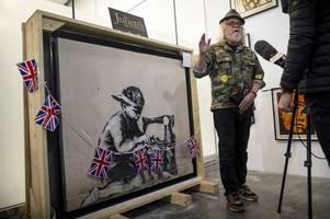 artist to whitewash £568k banksy because 'street art shouldn't be bought and sold'