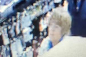 this woman dropped 'a quantity' of cash in temple meads whsmith and police want to find her