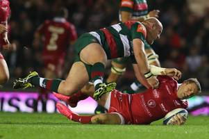 dan cole and sione kalamafoni return to boost leicester tigers forward pack against gloucester